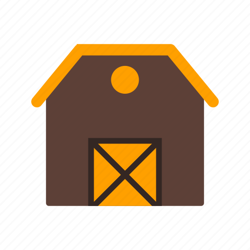 barn, farm, stable icon