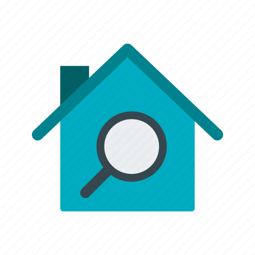 home, house, search icon
