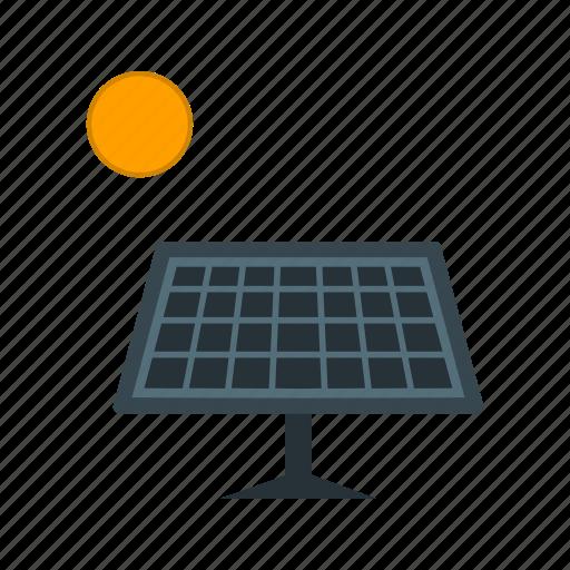 solar, solar energy, solar panel, sun icon