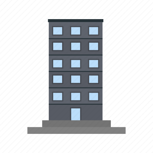 building, cityscape, office building, sky clouds, skyscape, skyscraper, tower icon