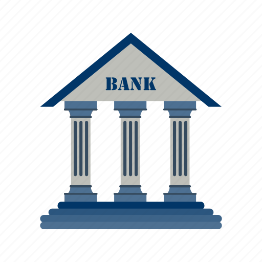 bank, banker, building icon