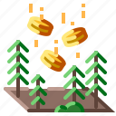 land, sale icon