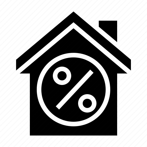 building, discount, estate, home, property, sale icon