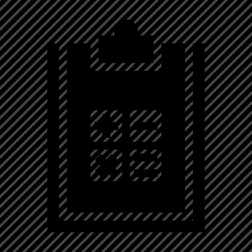 calculation, calculator, estate, home, property icon
