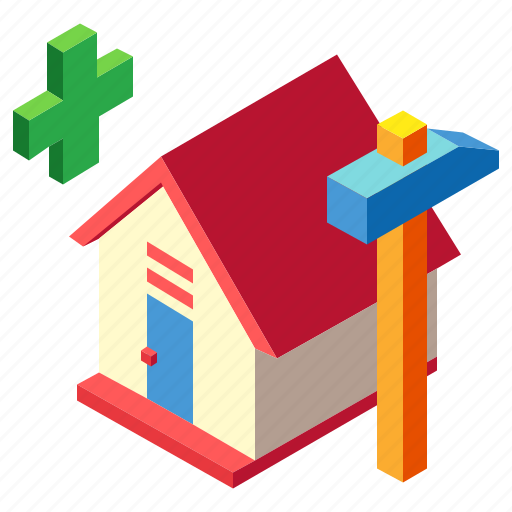 assembly, building, construction, home, house, property, real estate icon