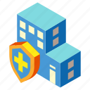 house, insurance, mortgage, property, protection, real estate, safe icon