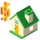 mortgage, house, housing, sale, real estate, property, investment icon