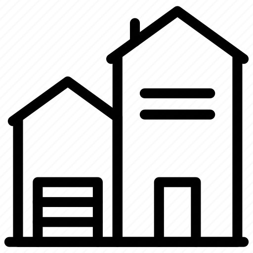 architecture, building, construction, estate, home, office, tool icon