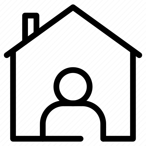 apartment, estate, home, house, owner, property, tenant icon