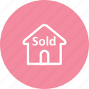 building, home, house, sold