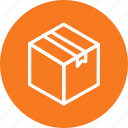 box, delivery, package, transport