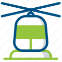 aircraft, helicopter, transport, transportation, travel, vehicle icon