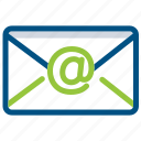 communication, email, envelope, interaction, letter, mail icon