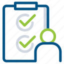 agen, check, checklist, clipboard, document, list, listing icon