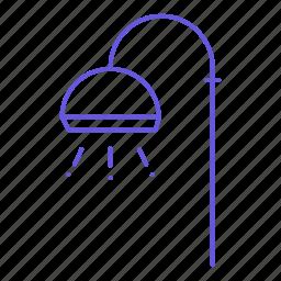 bathroom, shower, shower facility, wash, water icon