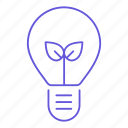 bulb, eco, electricity, energy, light, lightbulb, power icon