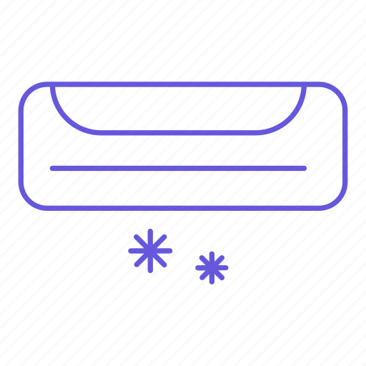 air conditioner, cold, conditioning, snowflake, temperature, thermometer icon
