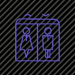 elevator, lift, lifting, transport icon
