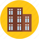 apartments, buildings, flats, housing society, residential icon