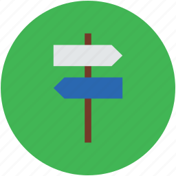location, location sign, navigational, signboards, signpost icon