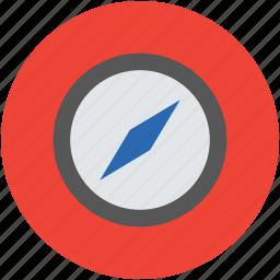 compass, directional, geometrical compass, gps, navigational compass, navigations, traveling icon