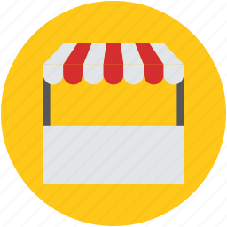 booth, food kiosk, food stand, kiosk, stall, stand, vendor icon