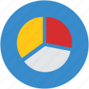 analysis, analytics, graph, pie chart, statistics icon