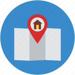 housing society, location, location symbol, map, map pointing, navigation, real estate icon