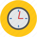 clock, round, time, time alert, timekeeper, timer, wall clock, watch icon