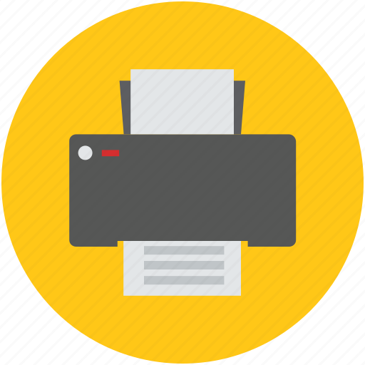 facsimile, fax, fax machine, inkjet printer, print, printer icon