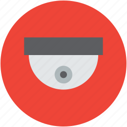 camera, cctv, dome camera, security camera, security concept, surveillance icon