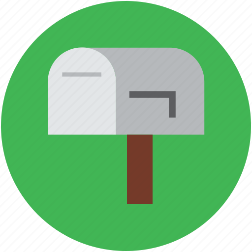 communications, correspondence, letterbox, mail box, postbox, retro communications icon