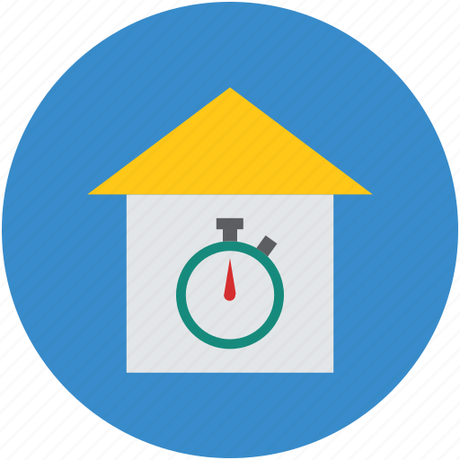 clock, home, house timing, time, timer icon