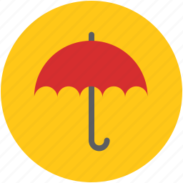 parasol, real estate, safety, shade, sunshade, umbrella icon