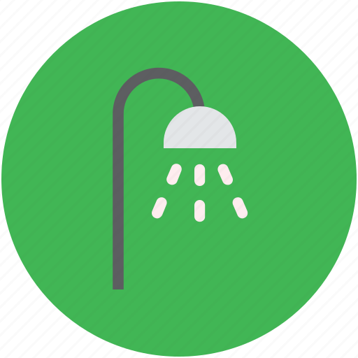bath, bathing, bathroom, shower, shower head, showering icon