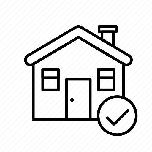 Estate, home, house, ok, real, rent, sale icon - Download on Iconfinder