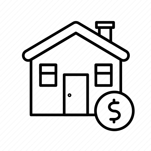 Real, estate, money, sale, rent, house, home icon