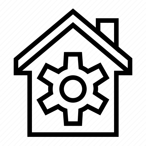 building, estate, home, house, property, repair icon