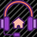 customer, support, help, house, headphone
