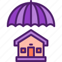 home, house, insurace, protection, umbrella