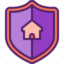house, home, protection, shield