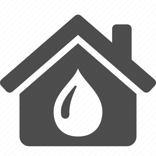 drop, home, house, plumbing, real estate, water icon