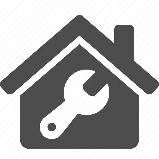 construction, home, house, real estate, repair, tool, wrench icon