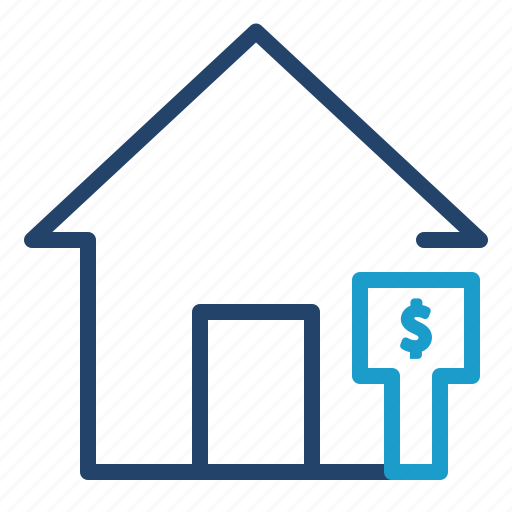 house, price, sell icon