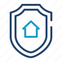 real estate, security, shield