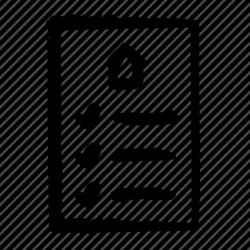 agency, agent, broker, checklist, estate, real, service icon