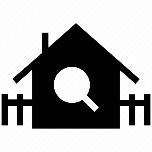 building, find house, finding house, locate house, location, real estate, search house icon