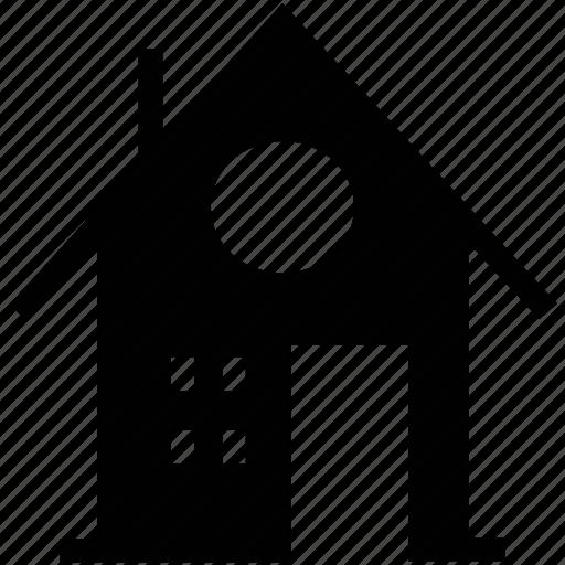 building, home, house, house building, hut, shack, villa icon
