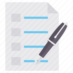 checklist, item, items, list, shopping icon