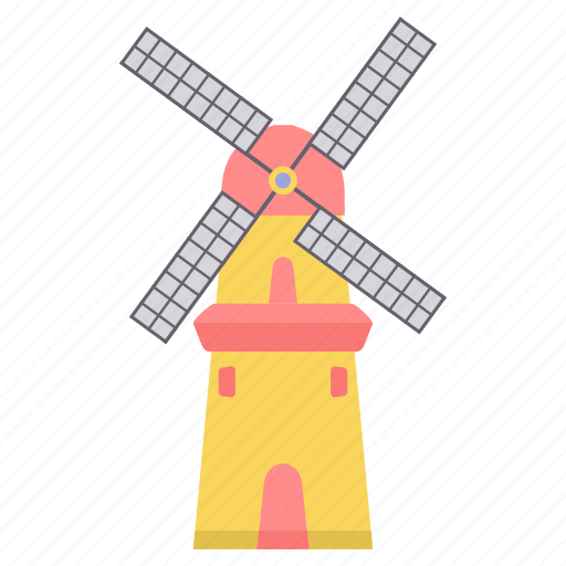 electric, electricity, energy, environment, generator, power, windmill icon